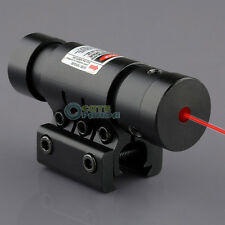 Tactical Red Laser Sight for Rifle Scope Airsoft 21mm & 11mm W/ Picatinny Mount