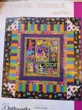 Laurel Burch Mythical Jungle Quilt KIT- Fabric and Pattern FREE US SHIP