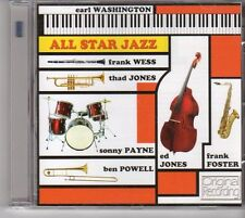 (EU495) Earl Washington, All Star Jazz (Hallmark's 2013 Version) - 2013 CD