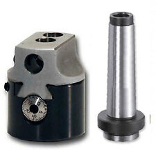 BORING HEAD 50mm + MT2 SHANK FOR MILLING MACHINES