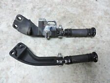 09 Harley FXDF Dyna Fat Bob rear back passenger foot rest pegs right left