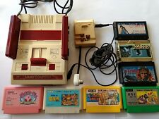 Nintendo Famicom NES HVC-001 Console,RF Switch with 7 games bundle set-M10-