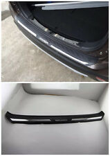 Rear Bumper Protector Sill Plate For 2016 Mitsubishi Outlander Door ABS Black