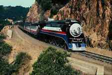 metal sign 788052 american freedom train 4449 at cape horn california usa a4 12x