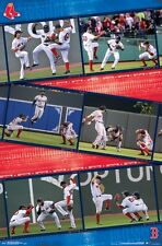 BOSTON RED SOX - OUTFIELDERS COLLAGE POSTER - 22x34 MLB BASEBALL 15706