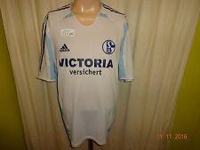 """FC Schalke 04 Adidas Auswärts Trikot 2005/06 """"VICTORIA versichert"""" Gr.XL"""