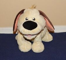 "12"" Disney Store Mulan LITTLE BROTHER Soft Plush Yellow & Brown Puppy Dog"