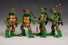 "4pcs Set TMNT TEENAGE MUTANT NINJA TURTLES 5"" Figure Red Headband no box New"