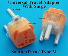 USA Australia UK to South Africa Universal Travel Adaptor AC Power Plug + Surge