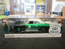 GreenLight RARE 1:64 NYPD New York City NYC Police Chevy Biscayne GREEN MACHINE