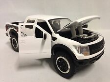 2011 Ford F-150 SVT  Raptor, Collectible, Diecast 1:24 , Jada Toys, DSP, White