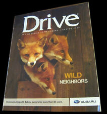 Subaru Drive magazine Spring 2009 Wild Neighbors