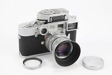 Leica M2 Chrome 35mm Rangefider Camera with 50mm f2 Summicron Near-Focus Lens