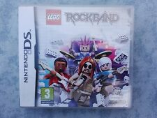 LEGO ROCK BAND NINTENDO NDS DS DSi 2DS 3DS PAL ITA ITALIANO COMPLETO COME NUOVO