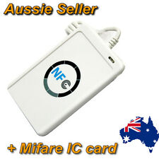 NFC ACR122U RFID Non contact smart Reader & Writer/USB+Software+Mifare IC Card