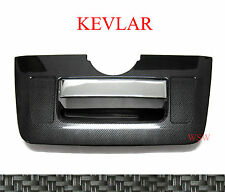 NEW CARBON REAR TAILGATE GATE COVER TRIM NISSAN FRONTIER NAVARA D40 05-13 10 11