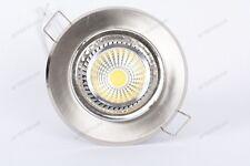 10x COB 5w FARETTO LED DA INCASSO 120° BIANCO FREDDO DIMMERABILE GU10 220v