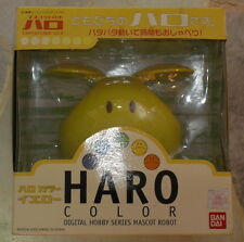 Bandai Gundam HARO 1/4 Yellow Digital Mascot Lights Shake Noise Sensor Clock