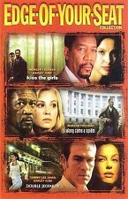 3 Thrillers Along Came a Spider Kiss the Girls Double Jeopardy New 3-Disc Set