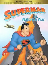 Superman vs. the Monsters and Villains (DVD) PLUS 2ND SM VS. NATURE & WAR DVD