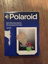 Polaroid Type 55 Instant P/N Sheet Film 4x5 Black White Exp. 06/2001