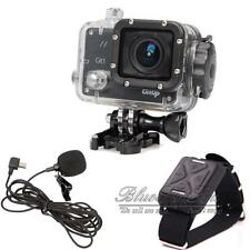 GitUp Git1 1.5' LCD 1080P WiFi Action Video DVR Camera+Extra Mic+Remote Control