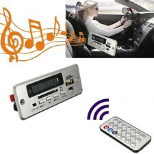 Decodificador Digital LCD MP3 Decoder Placa FM Radio USB 5V TF Coche/Vehículo
