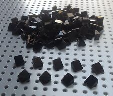 Lego Black 1x1 2/3 Slope Brick Cheese Wedge (54200) x100 in a set *BRAND NEW*