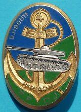 Insigne du 4° Escadron Blindé du 5° Régiment Interarmes d'Outre-Mer