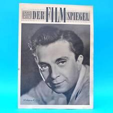 DDR película espejo 18/1955 Wolfgang Kiling Erich Franz gina lollobrigida runkehl