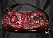 Kathy Van Zeeland, Pure Luxe Womens Handbag, Red Patent Leather