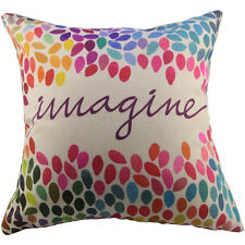 Imagine Throw Accent Pillow Complete w/ Insert & Case Hippie Boho Bohemian Sofa