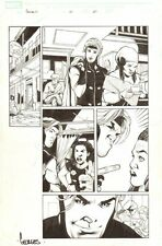 Gambit #12 p.20 - Gambit and Bella Donna - 2005 Signed art by Georges Jeanty
