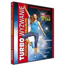 4 disc DVD EWA CHODAKOWSKA  Turbo Wyzwanie , Skalpel wyzwanie,Skalpel II Szok