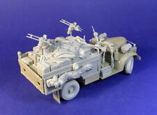 Resicast 1/35 Heavy Weapon Vehicle Late Conversion set for Tamiya LRDG Chevrolet