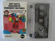 FAT CAT FAVOURITE NURSERY RHYMES FABLE FEAT LITTLE PATTY CASSETTE TAPE