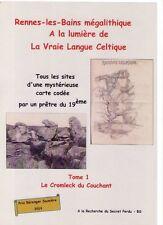 Rennes-les-Bains mégalithique, le cromleck du couchant T1 près Rennes-le-Château