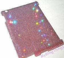 16ss LIGHT PINK CRYSTAL Diamond Bling Case for iPad 4 made w/ Swarovski Elements