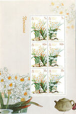 Isle of Man 2011 Narcissus Flower sheetlet mnh