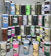 EMBOSSING POWDER 10 pack 0.6 ounce bottles ~Powders~Scrapbooking~Stamping