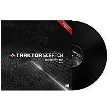 Native Instruments Traktor Scratch Control Vinyl MK2 BLACK ( SINGLE ) - NEW!!