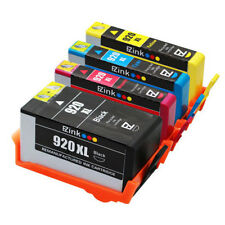 4 Pack New 920XL 920 XL Ink Cartridge for HP Officejet 7000 6500a CA