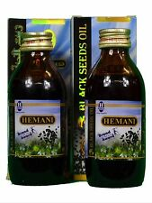 2 Pack Hemani  Black Seed/Cumin/Nigella Sativa Oil 100% Pure Natural  Oil 125 ml