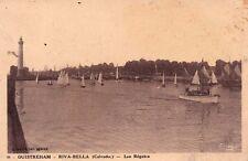 OUISTREHAM-RIVA-BELLA 98 les régates bateaux voiliers écrite