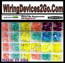 HEAT SHRINK WIRE CONNECTOR ASSORTMENT AUTOMOTIVE MARINE KIT - (480 PC) USA