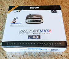 Escort PASSPORT MAX2 HD Radar Laser Detector Bluetooth GPS MAX 2 - NEW