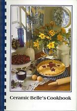 *SUN CITY AZ 1997 CERAMIC BELLE'S CLUB COOK BOOK *ARIZONA COMMUNITY RECIPES RARE