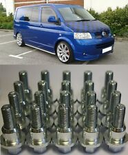 RANGE ROVER TO VW TRANSPORTER T5 ALLOY WHEEL CONVERSION KIT 20 BOLTS 4 RINGS