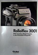 Rolleiflex 3001 Prospekt brochure - (0391)