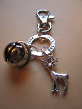 NEW Polar Express Bell Rudolph & Believe Children's Santa Christmas Bag Charm